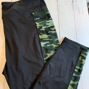 RISE plus size Lularoe activewear pants 3XL CAMO